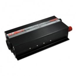 Invertor de tensiune Kemot URZ3163 12V/230V 1000W priza shuko