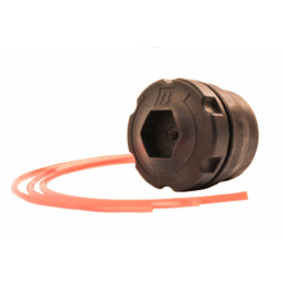 Tambur motocositoare Micul Fermier, 6 fire, 1.3 - 4 mm, functie autocut