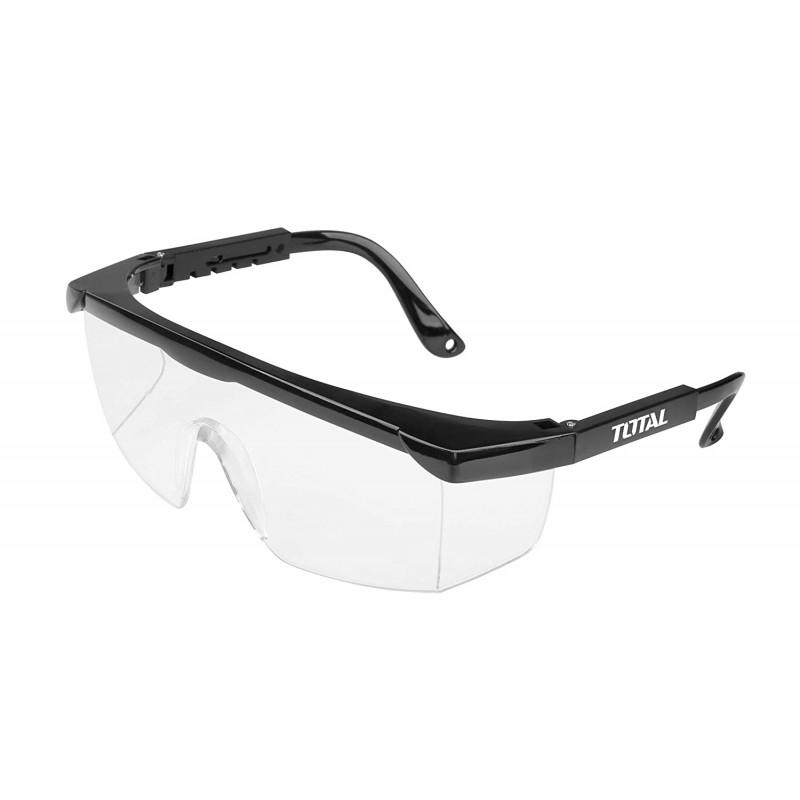 Ochelari de protectie laterala si frontala cu reglaj, rama neagra TSP301
