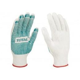 Manusi de protectie, pvc si tricot , mansete elastice, marime 10 (XL)