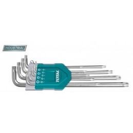 Set 9 chei imbus Torx (T10-T50) Cr-V Total