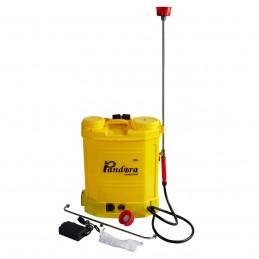Pompa de stropit electrica Pandora 20L cu acumulator 15Ah, pompa dubla, 6L/min, variator presiune, model 2020