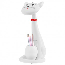 Lampa LED birou pentru copii model pisica Rebel Toys, 5901890055017, Rebel