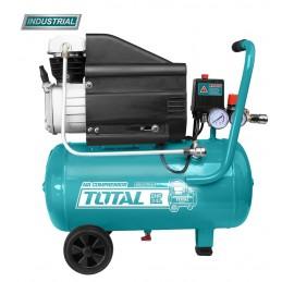 Compresor aer pe ulei - 24L - 8 bar - 1500W (INDUSTRIAL), 6925582185041, Total Tools