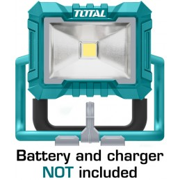 Lampa de lucru - 1500 lumeni - 20V (NU include acumulator si incarcator), 6925582191561, Total Tools