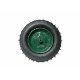 Roata verde 350-8 pentru ax mic (camera) model nou