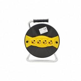 Tambur pentru rulat cablul electric cu priza, 6426910017190, Micul Fermier