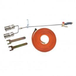 Arzator parjolire acoperis cu duza dubla 2x60mm/5m PROLINE, 5903755600523