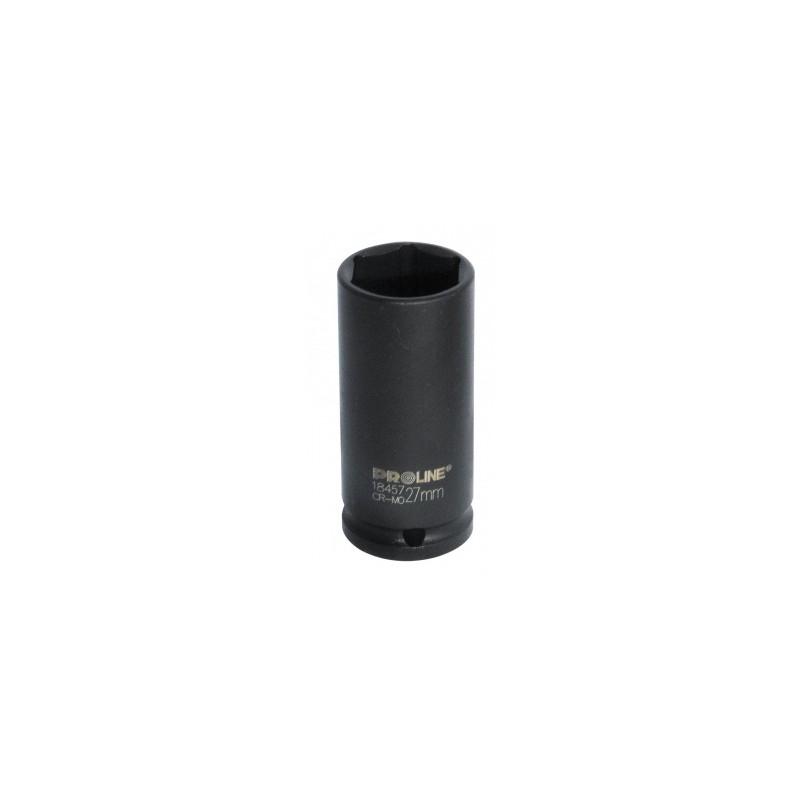 Cheie tubulara adanca hexagonala de impact 3/4'' 38mm PROLINE