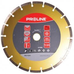 Disc diamantat segmentat super dur 230mm PROLINE